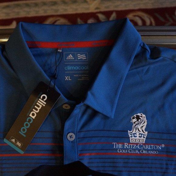 Adidas climacool Ritz Carlton Orlando golf shirt